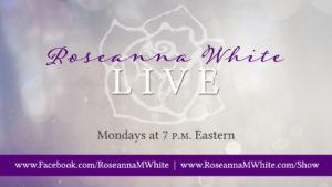 Roseanna White Live standard banner