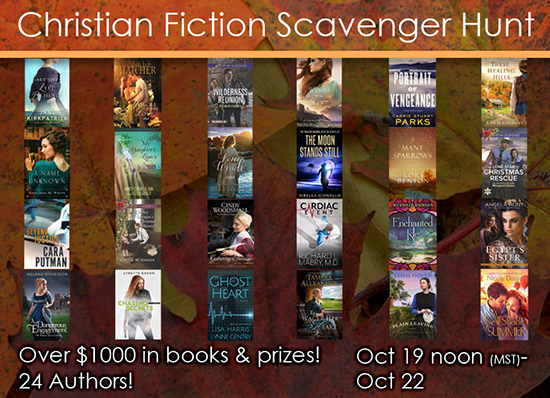 Christian Fiction Scavenger Hunt Stop #3