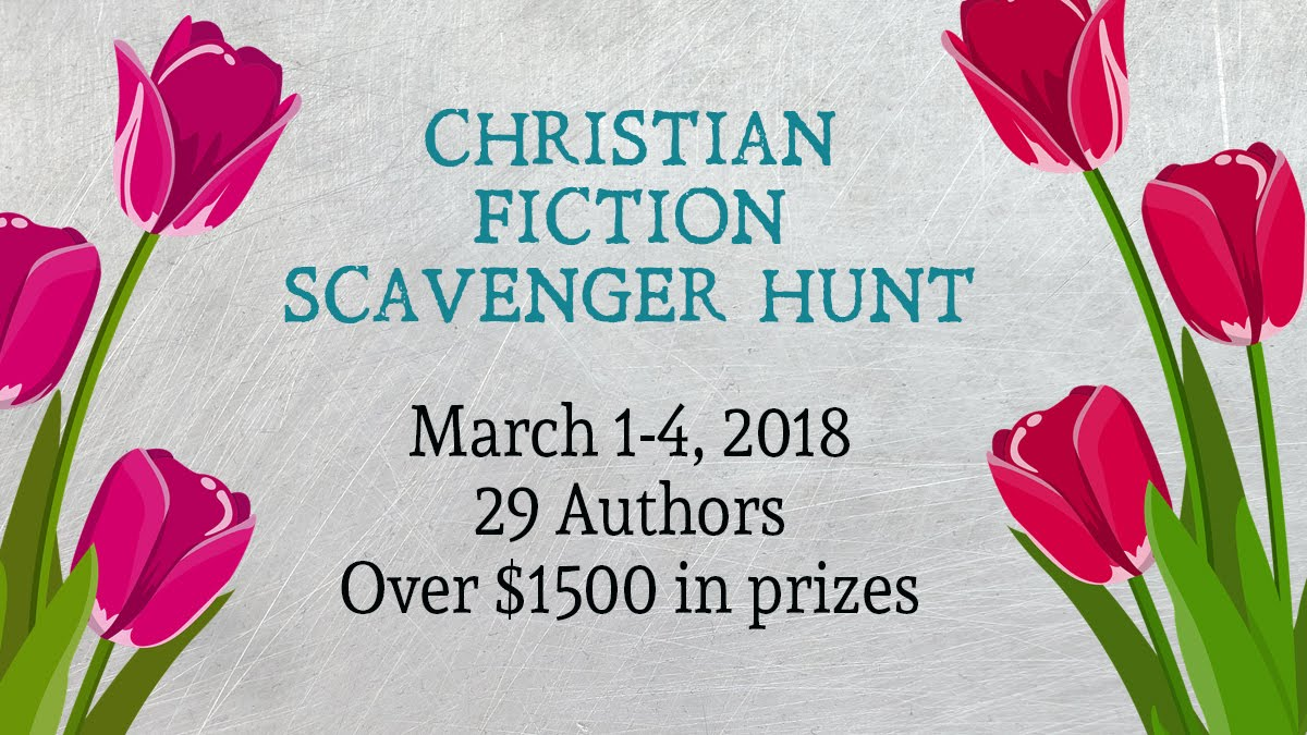 Christian Fiction Scavenger Hunt Stop #4