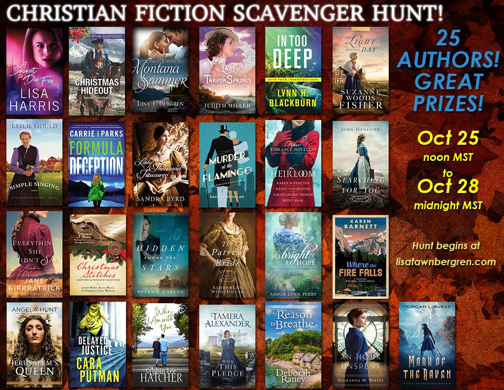 Christian Fiction Scavenger Hunt – Stop #7
