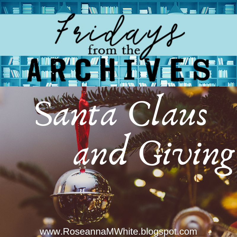 Friday From the Archives – Santa Claus and Giving