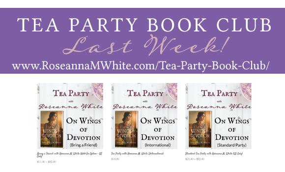 Tea Party Book Club!