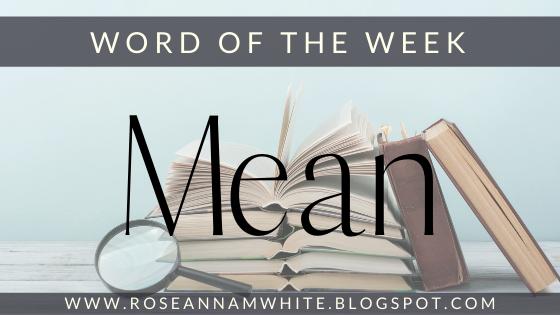 Word of the Week – Mean